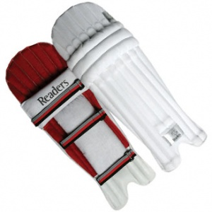 Schools Canvas Batting Pads (Boys, Youths & Mens)