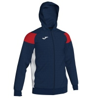 Joma Crew III Full Zip Hooded Jacket
