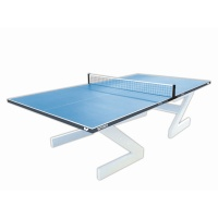 Butterfly Outdoor City Concrete Table Tennis Table (Blue)