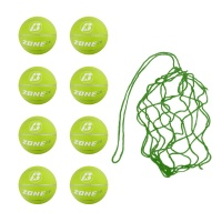 Net of 8 Baden Zone Basketballs Size 3 (Green)