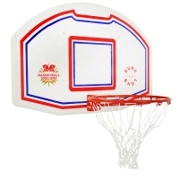 Sure Shot 506 Basketball Backboard and Ring (Single Unit)