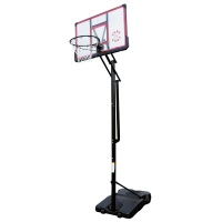 Sure Shot Easi Just Portable Unit with Acrylic Backboard and Pole Padding