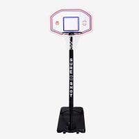 Sure Shot Telescopic Portable Basketball Unit with EB Backboard and Pole Padding