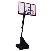 Sure Shot Pro Just, Portable Basketball Unit with Acrylic Backboard