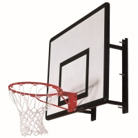 Heavy Duty Basketball Wall Mount (Single Unit & Ring)