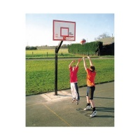 Sure Shot Euro Basketball Court System (Single Unit)