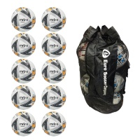 Sack of 10 Mitre Ultimatch Max Match Balls