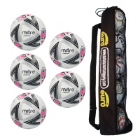 Tube of 5 Mitre Ultimatch Plus Match Balls