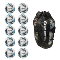 Sack of 10 Mitre Ultimatch Core Match Balls