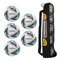 Tube of 5 Mitre Ultimatch Core Match Balls