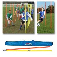 Diamond Mini Agility Pole Set (Bag of 12)