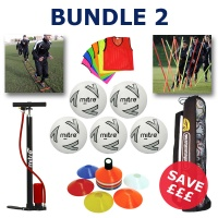 Euro Football Training Equipment Bundle 2