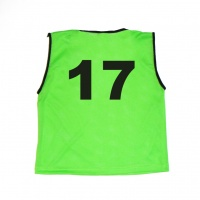 Numbered Mesh Bibs (Single)