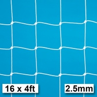 Harrod 2.5mm Football Goal Nets (16 x 4ft / 4.88 x 1.22m) FBL028 (Pair)