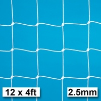 Harrod 2.5mm Football Goal Nets (12 x 4ft / 3.66 x 1.22m) FBL029 (Pair)