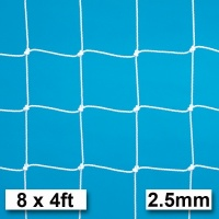 Harrod 2.5mm Football Goal Nets (8 x 4ft / 2.44 x 1.22m) FBL030 (Pair)