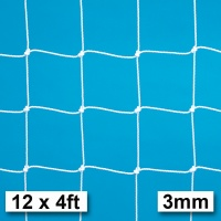 Harrod 3mm Heavy Duty Football Goal Nets (12 x 4ft / 3.66 x 1.22m) FBL032 (Pair)