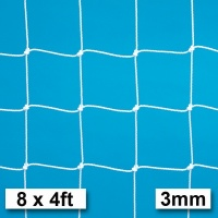Harrod 3mm Heavy Duty Football Goal Nets (8 x 4ft / 2.44 x 1.22m) FBL035 (Pair)