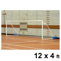 Harrod Fold-away Steel Football Goal Posts (12 x 4ft / 3.66 x 1.22m) FBL037 (Pair)