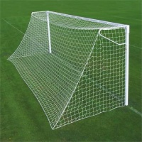 Harrod Socketed Steel Square Anti Vandal Goal Posts - With (600mm Deep Sockets) (24 x 8ft / 7.32 x 2.44m) FBL045 (Pair)