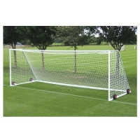 Harrod Heavyweight Freestanding Steel Football Goal Posts- Wheels & Nets Extra (24 x 8ft / 7.32 x 2.44m) FBL054 (Pair)