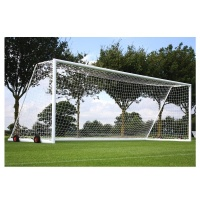 Harrod 3G Aluminium Football Portagoals (FBL084 (Pair) (Wheels & Nets Extra) (21 x 7ft / 6.4 x 2.13m) FBL084 (Pair)