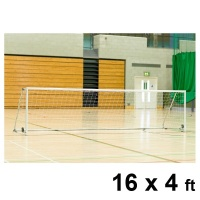 Harrod Folding Wheelaway Steel Football Goal Posts (16 x 4ft / 4.88 x 1.22m) FBL125 (Pair)