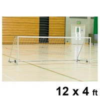 Harrod Folding Wheelaway Steel Football Goal Posts (12 x 4ft / 3.66 x 1.22m) FBL126 (Pair)