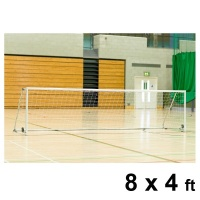 Harrod Folding Wheelaway Steel Football Goal Posts (8 x 4ft / 2.44 x 1.22m) FBL127 (Pair)