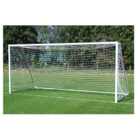 Harrod Folding Freestanding Aluminium Football Goal Posts (16 x 6ft / 4.88 x 1.83m) FBL180 (Pair)