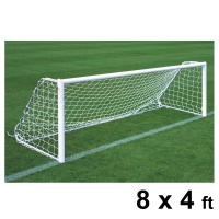 Harrod Folding Freestanding Aluminium Football Goal Posts (8 x 4ft / 2.44 x 1.22m) FBL187 (Pair)