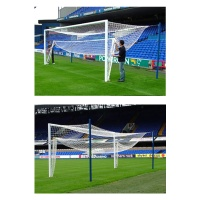 Harrod 3G Hinged Bottom Football Net Support for Aluminium Goals (21 x 7ft / 6.4 x 2.13m) FBL189 (Pair)