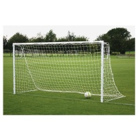 Harrod Heavyweight Socketed Steel Football Goal Posts (16 x 7ft / 4.88 x 2.13m) FBL250 (Pair)