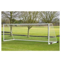 Harrod 3G Aluminium Weighted Football Portagoals- Includes Wheels (24 x 8ft / 7.32 x 2.44m) FBL435 (Pair)