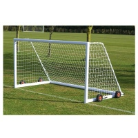 Harrod 3G Aluminium Weighted Wheelaway Football Portagoals (16 x 7ft / 4.88 x 2.13m) FBL437 (Pair)