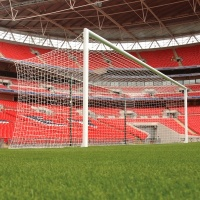 Harrod 3G Socketed Aluminium Stadium Football Goal Posts (24 x 8ft / 7.32 x 2.44m) FBL548 (Pair)