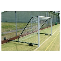 Harrod 3G Aluminium Fence Folding Football Goal Posts  with (3.5 - 5m Projection) (12 x 6ft / 3.66 x 1.83m) FBL589 (Pair)