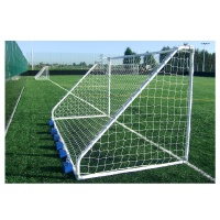 Harrod Classic Football Steel Small Sided Goal Posts (16 x 6ft / 4.88 x 1.83m) FBL640 (Pair)
