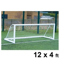 Harrod 3G 'Original' Integral Weighted Aluminium Football Portagoals (12 x 4ft / 3.66 x 1.22m) FBL645 (Pair)