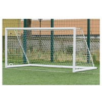 Harrod 3G 'Original' Integral Weighted Aluminium Football Portagoals (12 x 6ft / 3.66 x 1.83m) FBL655 (Pair)