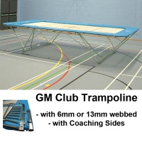 Club Trampoline with Coaching Safety Sides (GM Model)