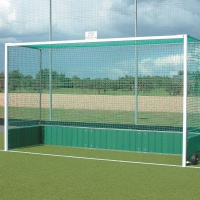 Harrod Premier Steel Hockey Goals (PVC backboard) (HOC017)