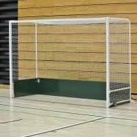 Harrod Folding/Wheelaway Steel Indoor Hockey Goal Posts (HOC018 or HOC026) (Pair)
