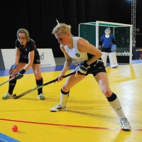 Harrod Aluminium Indoor Hockey Goals (HOC106) (Pair)