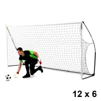 Quickplay Kickster Academy Football Goal (12 x 6ft)