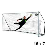 Quickplay Kickster Academy Football Goal (16 x 7ft)
