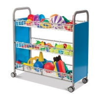 Gratnells Heavy Duty Sports Equipment Trolley