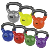 Vinyl-Coated Kettlebell