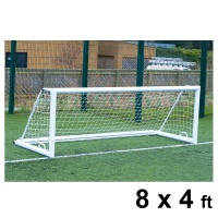 Harrod 3G 'Original' Integral Weighted Aluminium Football Portagoals (8 x 4ft / 2.44 x 1.22m) FBL646 (Pair)