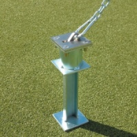 Harrod Flip up Anchor Sockets for goals on artificial pitches (ANC020)